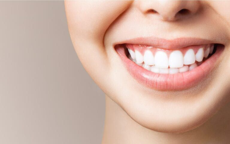 Woman Smiling With Great Teeth